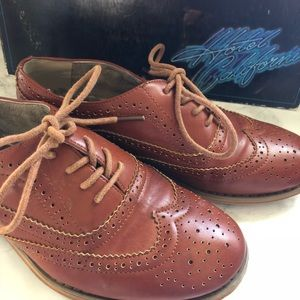 sweet brown oxfords